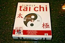 new Simply Tai Chi 40 Minute Dvd + 64 Page Full Color Book Complete Class