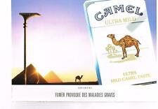 PUBLICITE ADVERTISING   1992  CAMEL  cigarettes ultra lild taste