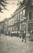 People Dining, Outdoor Cafe, L'Ecluse, Hotel Thof Van Brussel, Sluis Netherlands