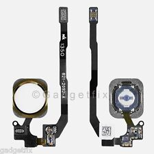 US Gold iPhone 5s Flex Cable + Fingerprint Touch ID Sensor Home Button Connector