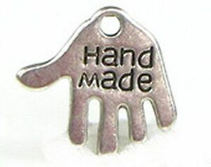 11g (Approx 25pcs) Hand Made hand charm ~ approx 12.5x13mm