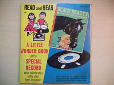 Wonder Book & Record BLACK BEAUTY 45rpm 1952