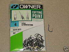 OWNER HOOKS SSW ALL PURPOSE BAIT 5311-071 SZ 4 QTY 57