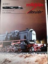 Marklin Insider Le magazine du Club Marklin n°5/2001 - Tr.21