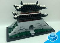 LEGO Architecture 21016 ★ Sungnyemun ★ neue LEGO-Steine, mit Name Tile, Re-Brick