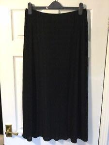 Ladies Stunning Per Una Wavy Textured Material Skirt Size 14