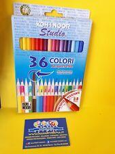 Matite acquarellabili colorate 36 colori koh-i-noor conf.1 scuola ufficio