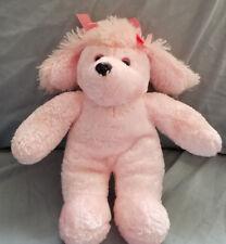 "DanDee Pink Poodle Puppy Dog stuffed/plush animal - 10"""