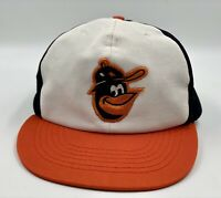 Vintage MLB Baltimore Orioles Baseball Snapback Hat Cap Coca Cola Promotion