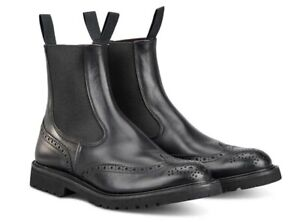 TRICKERS // Henry Olivvia // Mens Black Chelsea Boots // NEW!!!