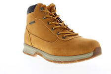 Lugz Rally MRALLYMK-747 Mens Brown Nubuck Leather Lace Up Casual Dress Boots 9.5