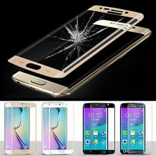 FULL COVERED 3D TEMPERED GLASS  SCREEN PROTECTOR FOR SAMSUNG GALAXY S6 EDGE UK