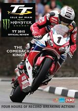 Isle of Man TT - Official Review 2015 (New DVD) Motorcycle Road Racing Bike
