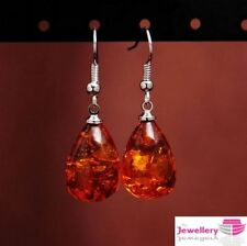 Drop/Dangle Amber Costume Earrings