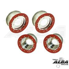 Honda TRX 450R 400EX  Front and Rear Wheels  Beadlock 10x5 9x8 Alba Racing SR 41