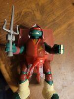 Teenage Mutant Ninja Turtles TMNT Battle N Throw RAPHAEL Action Figure 2013