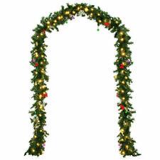 Casaria 101779 5m Guirlande de Noël en Sapin avec 80 LEDs - Verte