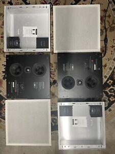 Meridian DSP 420 In Wall speaker pair speakerlink version
