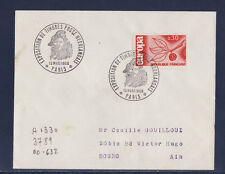 ec66/ Enveloppe   expo timbres poste Neerlandais   Paris     1966