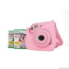 Fuji Instax Mini 9 Sofortbildkamera Sofortbild blush rose rosa 2 Filme Tasche