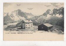 Chamonix Panorama Pris de Plan Praz [JJ 2239] U/B Postcard 906a