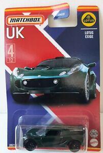 Matchbox Best Of UK Serie 2. Lotus Exige New IN Box