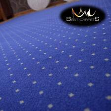 MODERN & CHEAP & BEST QUALITY CARPETS Feltback 'AKTUA' blue Bedroom Large size