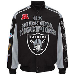Oakland Raiders G-III Extreme TRIUMPH Commemorative NFL Jacket