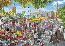 Gibsons Market Day, Norwich Jigsaw Puzzle (1000 Pieces)