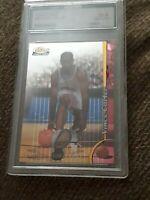 1998-1999 Finest #230 Vince Carter Rookie Advaced 10 Gem Mint Toronto Raptors