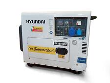 Generatore Diesel silenziato carrellato HYUNDAI 65237 6 3 Kw monofase Gasolio