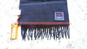Superdry Mens Solid Capital Tassel Scarf Size 1Size