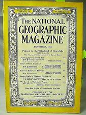 Nov 1953 National Geographic Magazine: Lionel/Zenith/Kodak/Williamsburg/More Ads