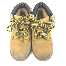 Cherokee Infant Kids Size 7.5 Leather Work Hiking Lumberjack Boots