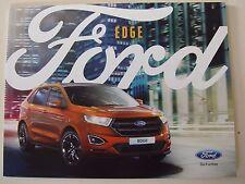 Edge Ford Edge January  Sales Brochure