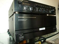 ONKYO Vorverstärker P 3370 Endstufe M 5550 VINTAGE geprüft Amplifier Integra