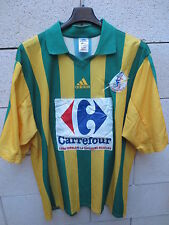 VINTAGE Maillot FC NANTES Féminines porté n°10 ADIDAS match worns shirt rare XL