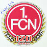 Badge Pin FC  FCN 1. FC Nürnberg Germany Bundesliga 120 years   1990 - 2020