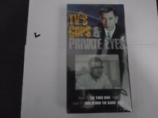TV'S COPS & PRIVATE EYES VHS NEW -GANGBUSTERS, PASSPORT TO DANGER 011301350336