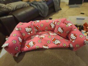EUC FABRIC Pink Hello Kitty RECTANGLE SOFA DESIGN KLEENEX TISSUE BOX COVER