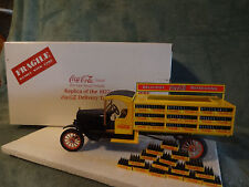 "1995 Danbury Mint-"" Coca Cola "" 1927 Ford Delivery Truck 1:24 Die-Cast With Box"
