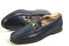 GUCCI Loafer Horsebit made in Italy 40.5/ US7/ 6.5UK shoes 307929 moccasins Roos