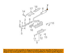 HONDA OEM 01-05 Civic 1.7L-L4 Exhaust-Intermed Pipe Hanger 18215S5AA11