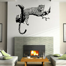 Large Leopard Tiger Art Room Home Removable Decor Wall Decal Sticker Mural New