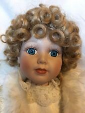 angel porcelain doll