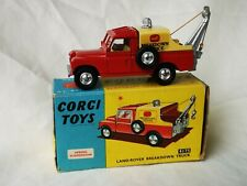Corgi toys no. 417S Land-Rover Breakdown Truck Boxed