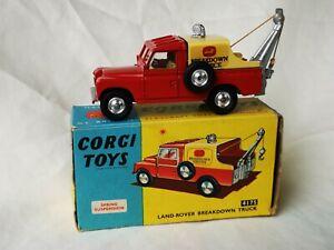 Corgi toys no. 417S Land-Rover Breakdown Truck Boxed
