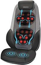 HoMedics Shiatsu Max 2.0 Back and Shoulder Massager with Heat Massage Chair GREY