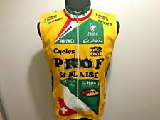 NALINI TEAM PROF CYCLING VEST MEN'S SIZE M BICYCLE JERSEY MANTO-TEX