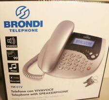 Brondi TM-01V Schnurgebundenes Telefon, F40